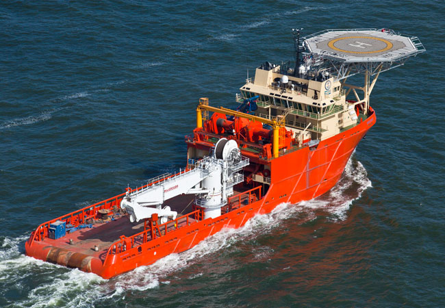 Holiday, 288′ Multi-Purpose Supply Vessel